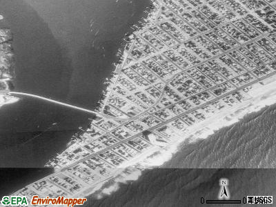 Longport satellite photo by USGS