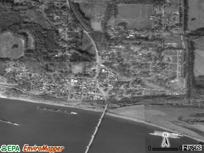 Brookport satellite photo by USGS