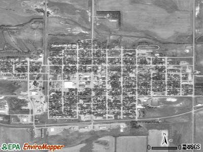 Cooperstown satellite photo by USGS