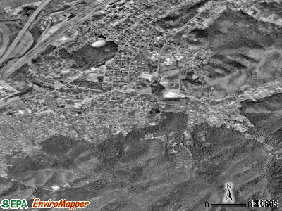 Banner Hill satellite photo by USGS