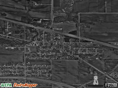 Elk Run Heights satellite photo by USGS