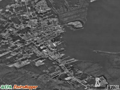 Manteo satellite photo by USGS