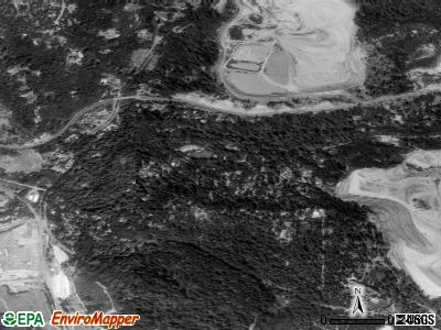 Felton satellite photo by USGS
