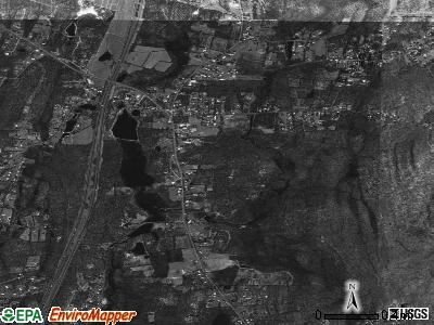 Plattekill satellite photo by USGS
