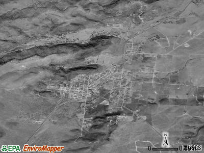 Fort Davis satellite photo by USGS