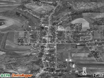 Carrolltown satellite photo by USGS