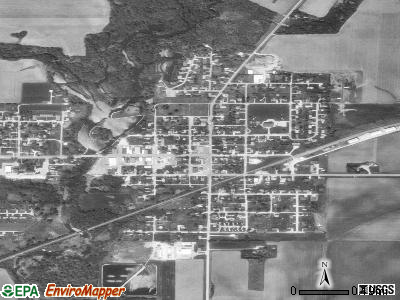 Fairbank satellite photo by USGS