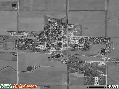 Gowrie satellite photo by USGS