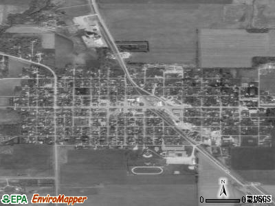 St. Ansgar satellite photo by USGS