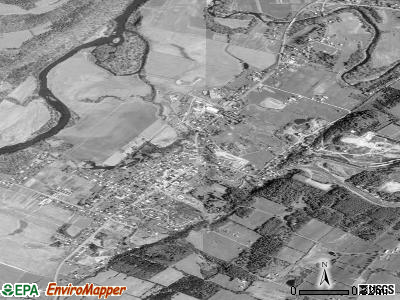 Schoharie satellite photo by USGS
