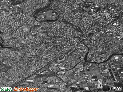 Rahway satellite photo by USGS