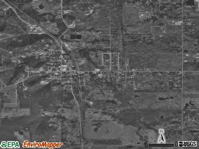 Kiefer satellite photo by USGS
