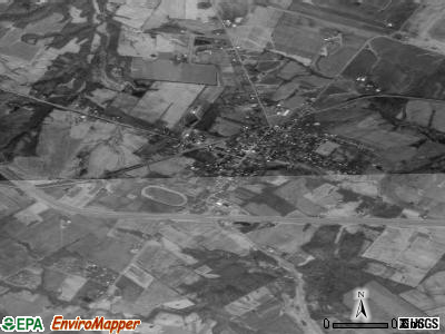 Poestenkill satellite photo by USGS
