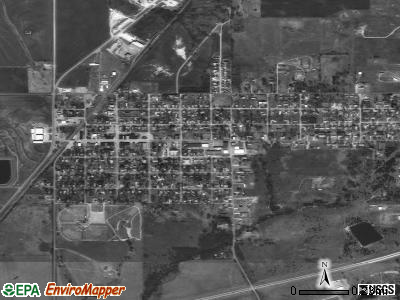 Fletcher satellite photo by USGS