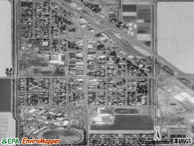Tulelake satellite photo by USGS