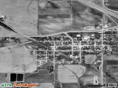 Urbana satellite photo by USGS