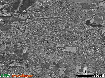 Mercerville-Hamilton Square satellite photo by USGS