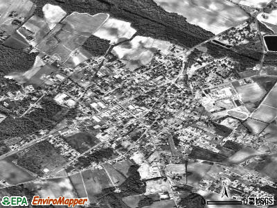 Lamar satellite photo by USGS
