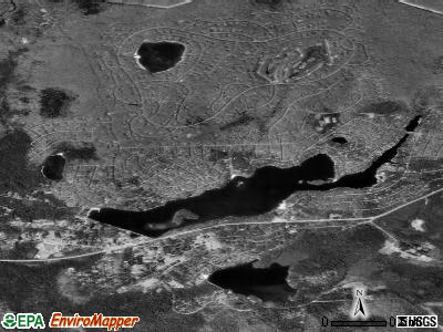 Pocono Pines satellite photo by USGS