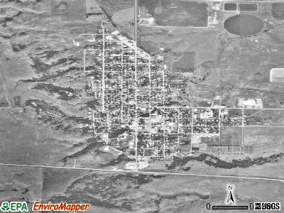 Wessington Springs satellite photo by USGS