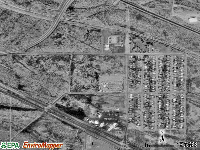 Littletown satellite photo by USGS