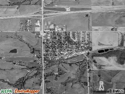 De Soto satellite photo by USGS