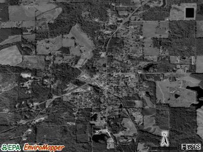 Sumrall satellite photo by USGS