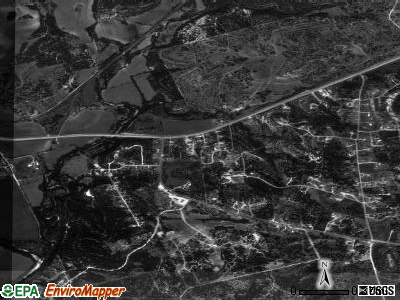 Kempner satellite photo by USGS