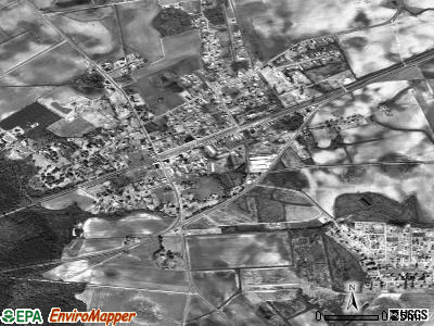 Mayesville satellite photo by USGS
