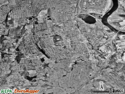 Wethersfield satellite photo by USGS