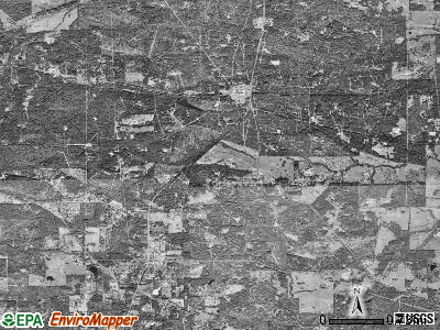 New London satellite photo by USGS