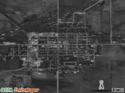 Fredericksburg satellite photo by USGS