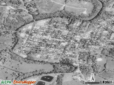 Funkstown satellite photo by USGS