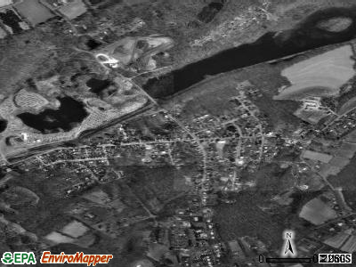East Bangor satellite photo by USGS