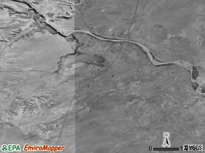 Cameron satellite photo by USGS