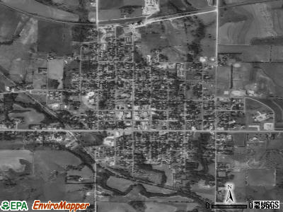 Mankato satellite photo by USGS