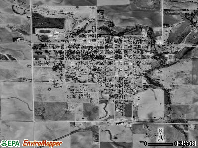 Ashland satellite photo by USGS
