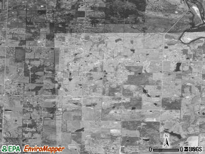 Kibler satellite photo by USGS