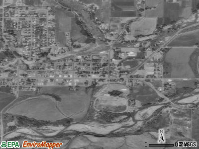 Hotchkiss satellite photo by USGS