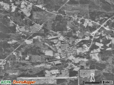 Pine Hill satellite photo by USGS