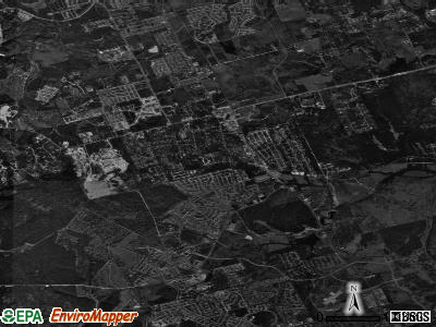 Cedar Park satellite photo by USGS