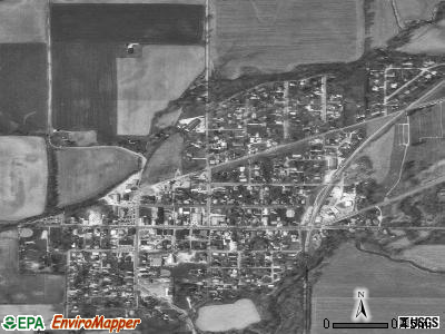 Morgantown satellite photo by USGS