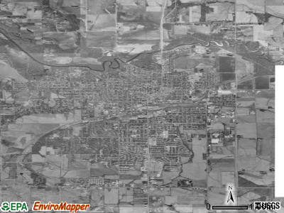 Marshalltown satellite photo by USGS