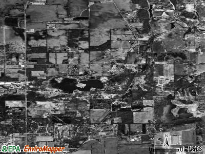 Langley satellite photo by USGS