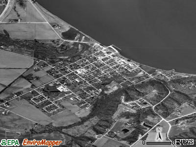 Montrose satellite photo by USGS