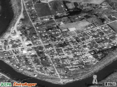 Saltsburg satellite photo by USGS