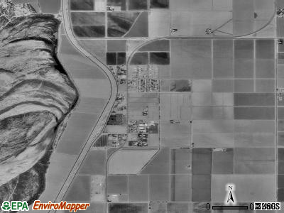 Gadsden satellite photo by USGS