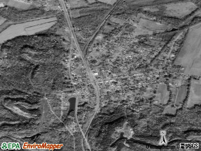Mortons Gap satellite photo by USGS