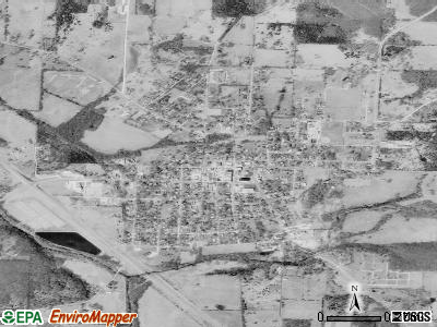 Humansville satellite photo by USGS