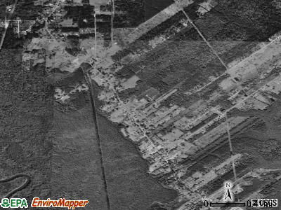 French Settlement satellite photo by USGS